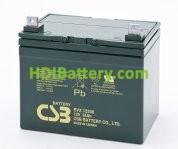 Batería para silla de ruedas 12v 34ah plomo agm EVX-12340 CSB